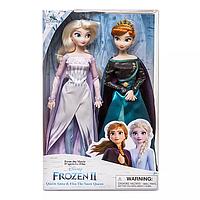 """Набор кукол королевы Анны и снежной королевы Эльзы """"Холодное сердце -2"""" Disney Store – Frozen 2Disney Store"""