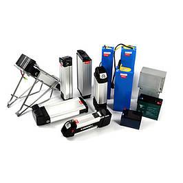 Аккумуляторы и зарядные устройства для электровелосипедов
