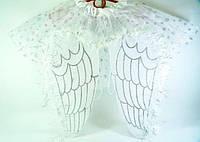 """Карнавальный детский костюм """"Белый Ангел"""" 2 предмета в наборе, детский образ ангела"""