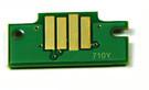 Чип Ocbestjet для картриджа Canon PFI-710Y для плоттеров Canon TX-2000/TX-3000/TX-4000, Yellow