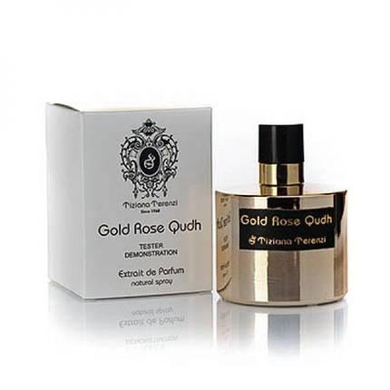 Тестер Tiziana Terenzi Gold Rose Oudh духи 100 ml. (Тизиана Терензи Золотая Роза Уд), фото 2
