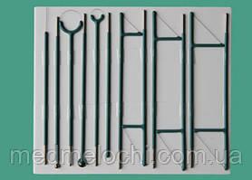 Комплект гінекологічний (дванадцать электродів, товщіна нитки 0,2 мм)