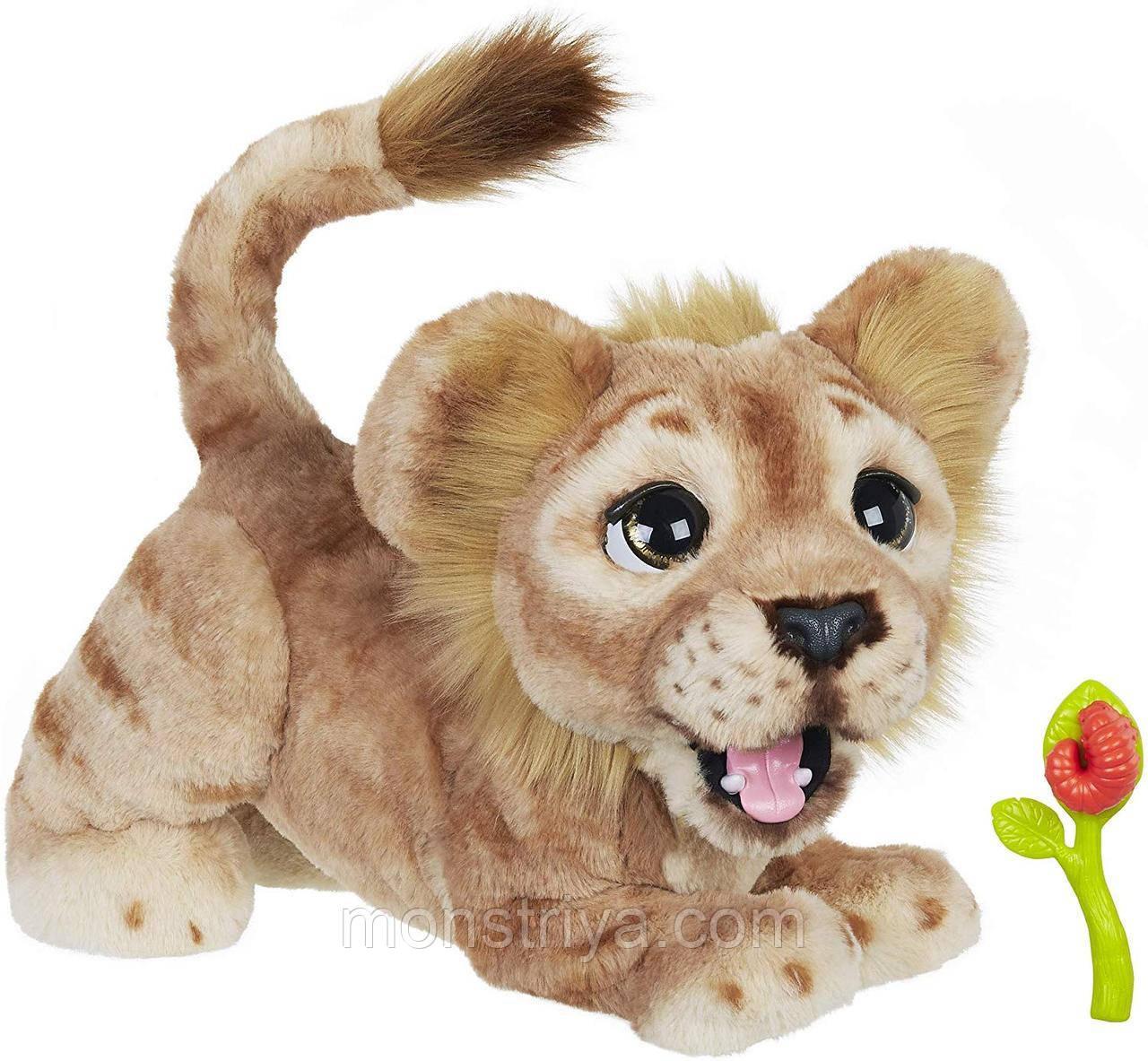 Интерактивная игрушка Могучий Лев Симба FurReal Friends от Hasbrо Disney The Lion King англ.яз