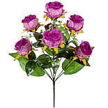 Букет бутонов роз леопардовых, 65см.(по 10 шт. в уп.), фото 2