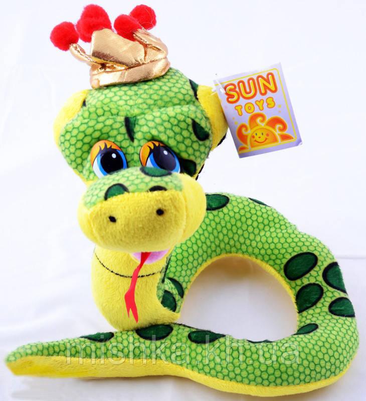 М'яка іграшка Змія 24см А5-284