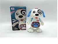 Муз.собачка батар.,свет, муз.,размер игрушки - 22см, в кор. 11*11*22см /72-2/ (8811-30)
