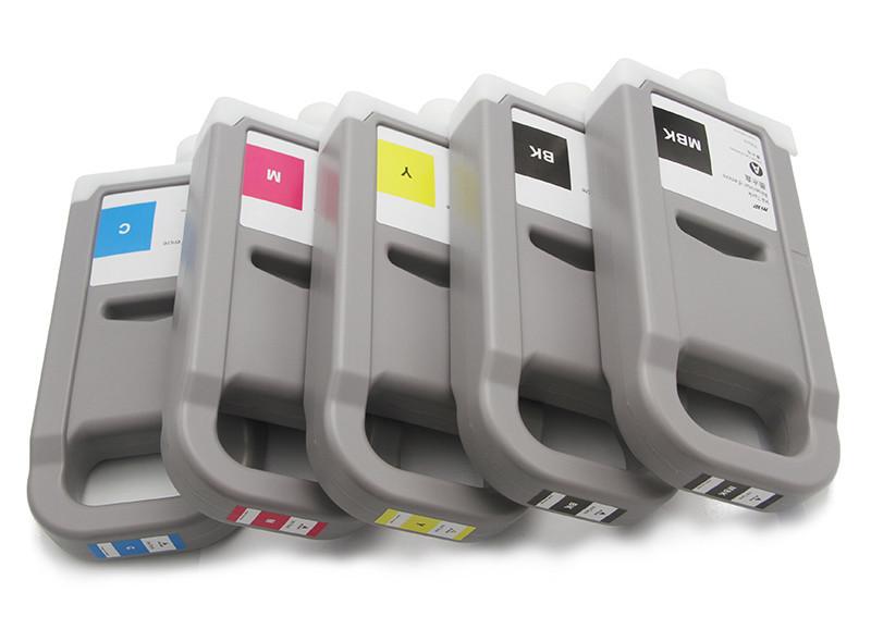 Набор совместимых картриджей Ocbestjet PFI-710 для Canon TX-2000/TX-3000/TX-4000, CMYKMBk, 5x700 мл