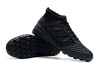 Футбольные сороконожки adidas Predator Tango 19.3 TF Core Black/Active Red, фото 1