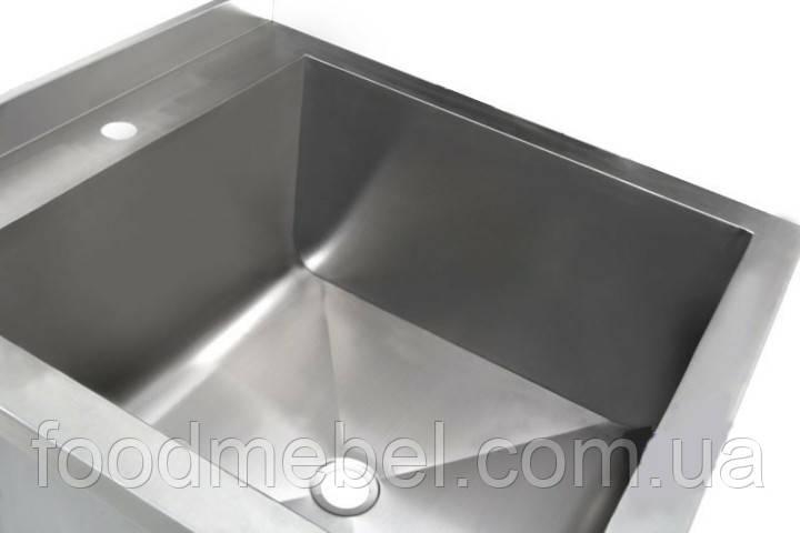 Ванна моечная 600х800х850 мм сварная односекционная