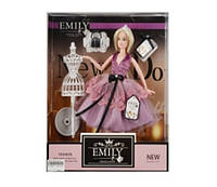 "Кукла ""Emily"" с манекеном и аксессуарами, в кор.33*28*6см /48-2/ (QJ081B)"
