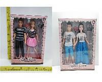 "Кукла типа ""Барби""""Семья"" 2 вида, в кор. /72-2/ (LY616-A/E)"