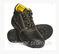Высококачественная рабочая обувь из коровьей кожи со стальным носком
