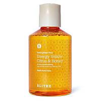 Сплэш-маска для сияния кожи Blithe SPLASH MASK Patting Water Pack Energy Yellow Citrus