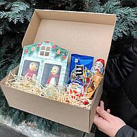 Новорічний подарунковий бокс | Новогодний подарочный бокс Sweet box