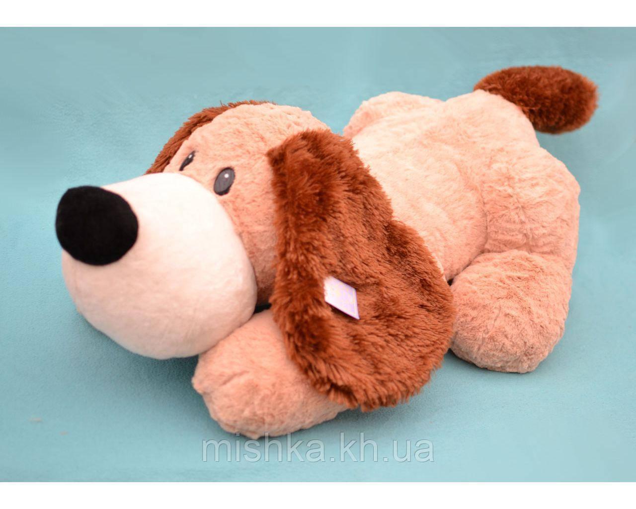 Мягкая игрушка (не набитая) Собака лежит