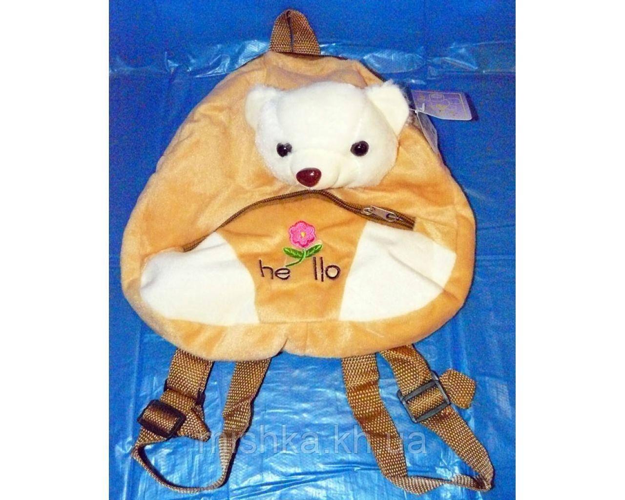 Мягкая игрушка- рюкзак Мишка
