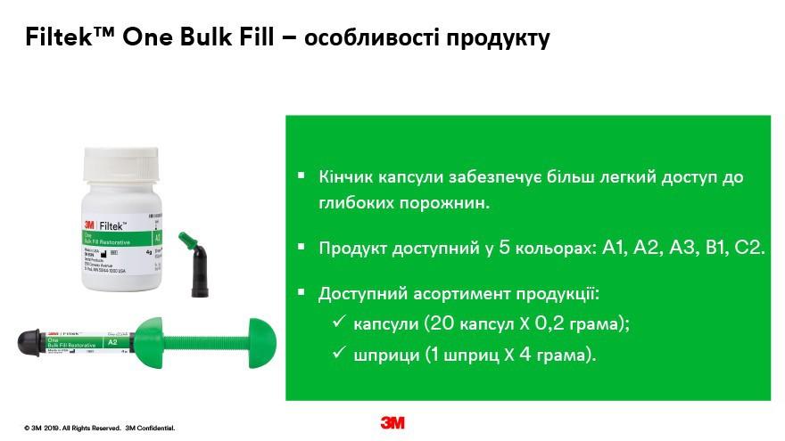 FILTEK one BULK FILL POSTERIOR 3Vdent