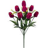 Букет тюльпанов 9-ка,51см(18шт в уп.), фото 2