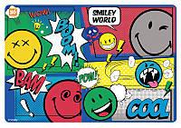 Подложка для стола детская ''Smiley World''(blue)