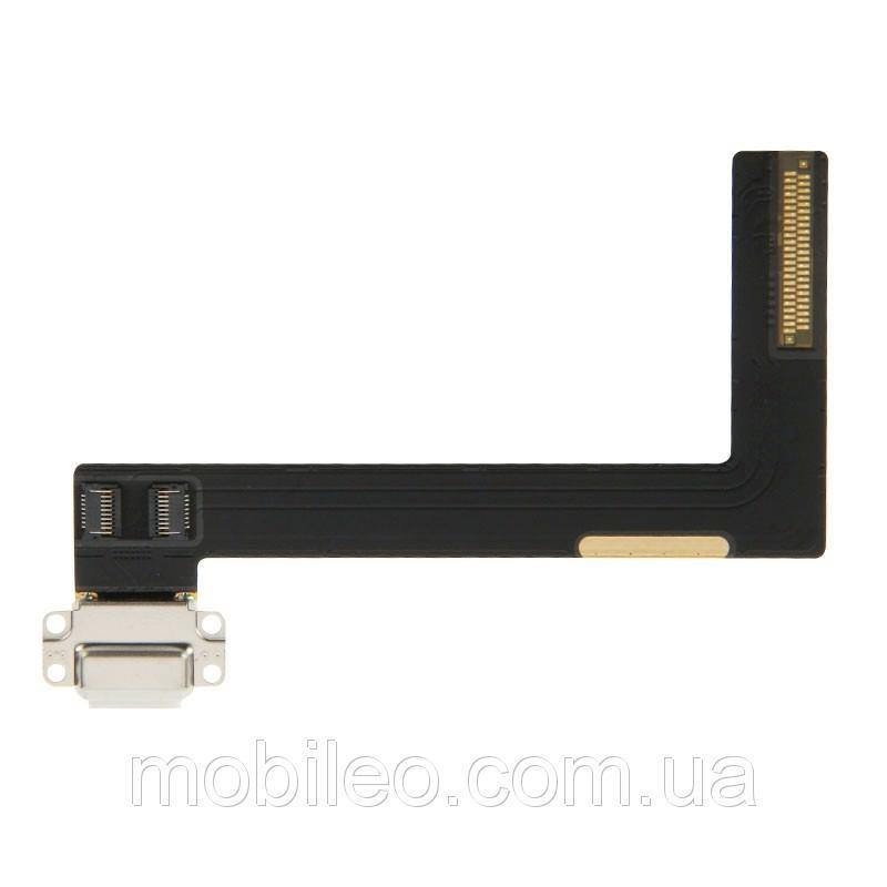Шлейф для планшета iPad Air 2 с разъемом зарядки белый