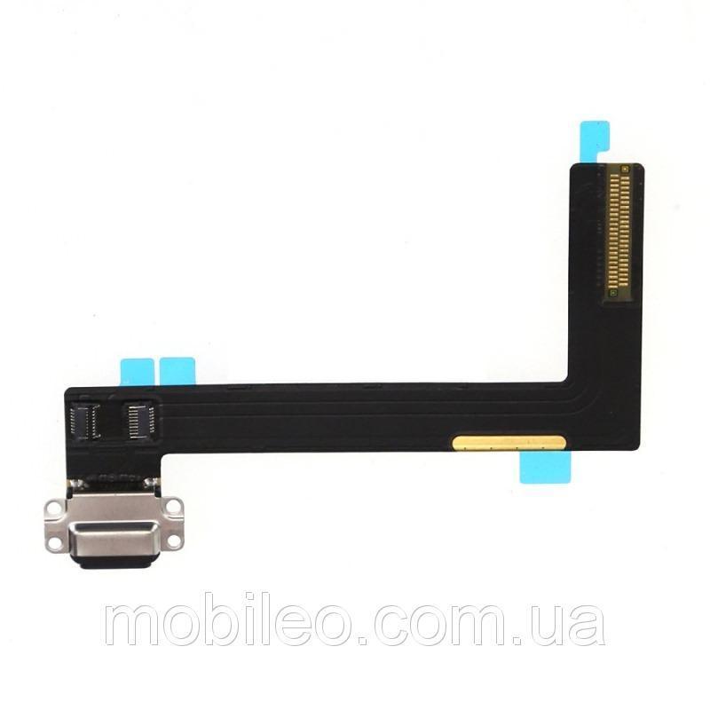 Шлейф (Flat, Flex cable) для планшета Apple iPad Air 2 с разъемом зарядки чёрный
