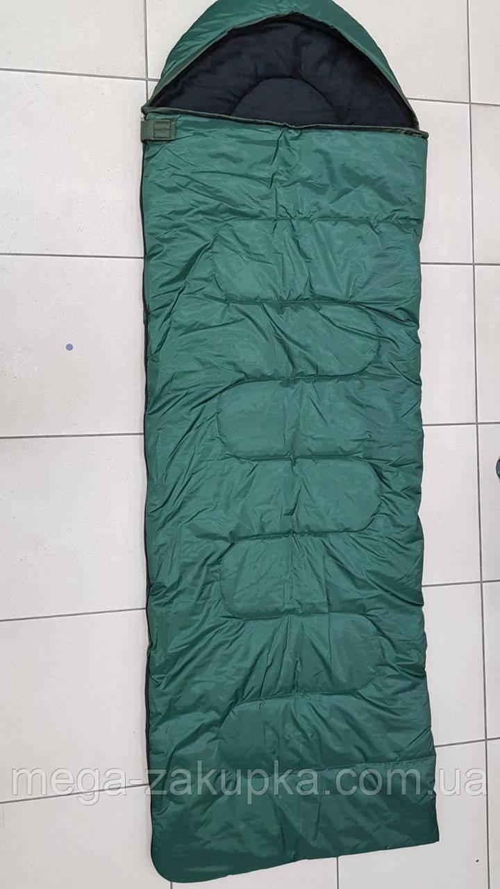 Зимовий спальний мішок (спальник) водонепроникний VERUS Polar Green -15°C - 20°C, НОВИНКА!