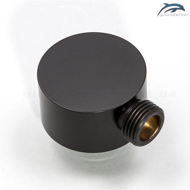 Угловое подключение лейки ручного душа для душевой системы скрытого монтажа BSSV-03 латунное.