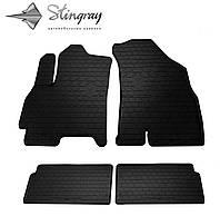 Коврики резиновые для CHERY Tiggo 4 18- (кт 4 шт) (STINGRAY)