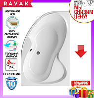 Акриловая ванна 160x105 см Ravak Rosa II CL21000000 правосторонняя, фото 1