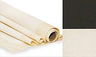 Холст грунтованный Rosa Gallery 1,5x1 м мелкое зерно хлопок черный грунт в рулоне (4820149875651)