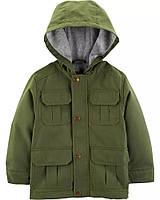 Детская демисезонная куртка на флисовой подкладе для мальчика
