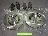 Комплект тормозной передний AUDI Q3, Volkswagen JETTA, SKODA YETI (производство REMSA) (арт. 81219.02), AGHZX