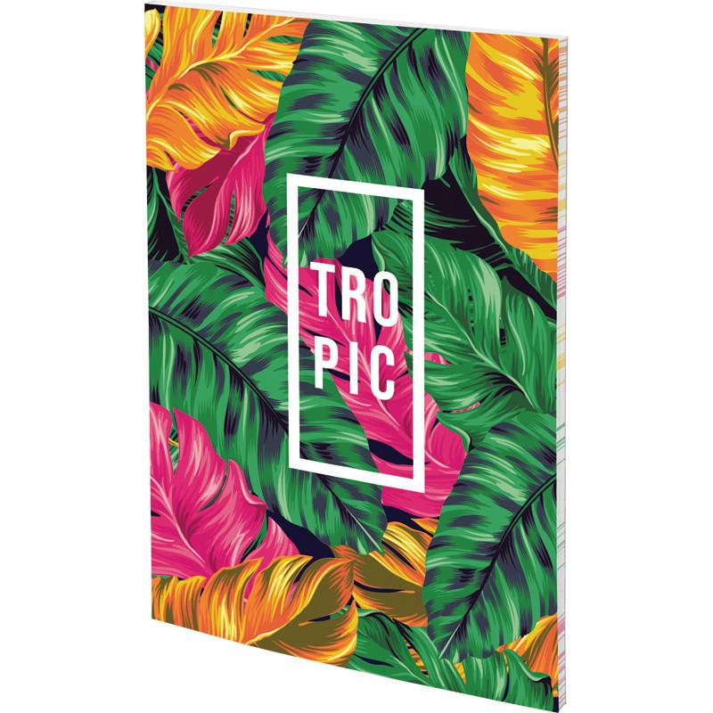 Блокнот Kite Neon Tropics А5 64 л. термобиндер  (8443-06-А)