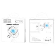 БЗУ Hoco CW19 Nimble iWatch wireless charger 1A White, фото 2