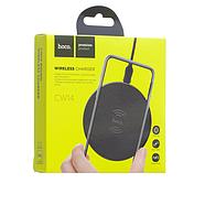 БЗУ Hoco CW14 round wireless charger 2A Black, фото 2
