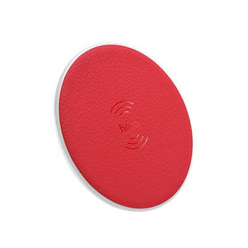 БЗУ Hoco CW14 round wireless charger 2A Red