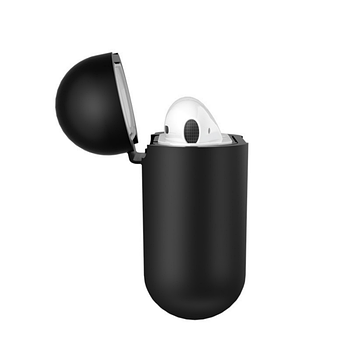 БЗУ Hoco CW22 Wireless charging case for AirPods Black