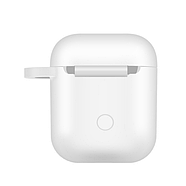 БЗУ Hoco CW22 Wireless charging case for AirPods White, фото 3