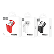 БЗУ Hoco CW22 Wireless charging case for AirPods Red, фото 2