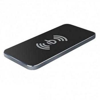 БЗУ Awei W1 Qi Wireless Charging Transmitter Aluminum Alloy Pad 1A Grey
