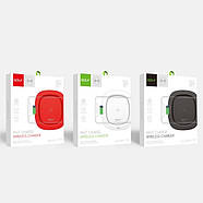 БЗУ Golf GF-WQ5 High quality portable wireless qi charger for mobile phone 1A Black, фото 2