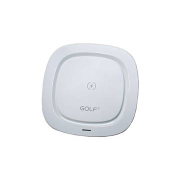 БЗУ Golf GF-WQ5 High quality portable wireless qi charger for mobile phone 1A White