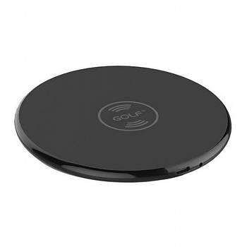 БЗУ Golf GF-WQ3 Round Wireless Charger 1A Black