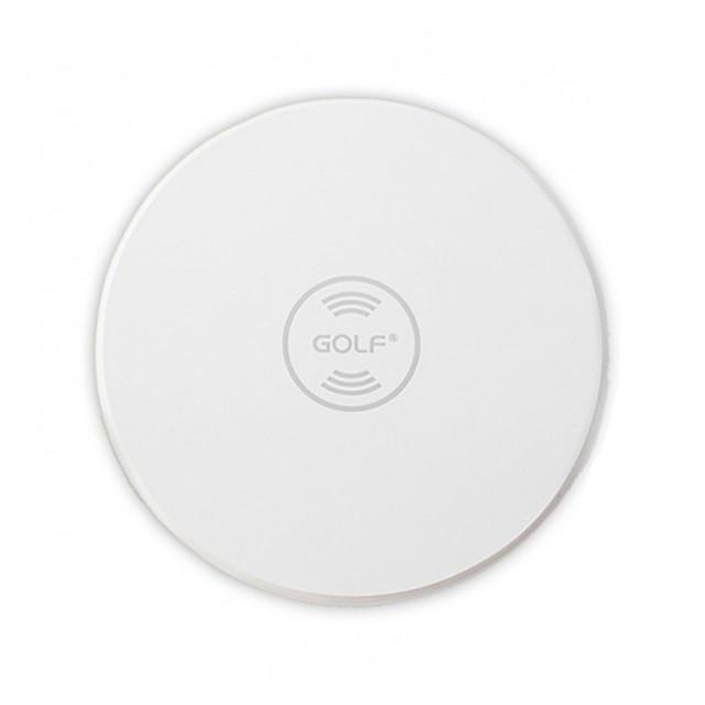 БЗУ Golf GF-WQ3 Round Wireless Charger 1A White