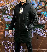 Мужская куртка зимняя в стиле Off White
