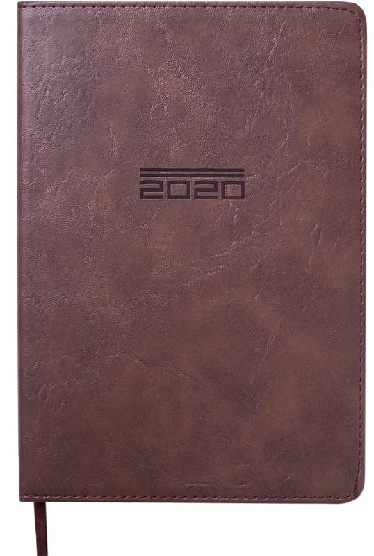 Ежедневник датированный 2020 Buromax ALTRIUM A5 336 стр. коричневый (BM.2194-25)
