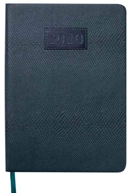 Ежедневник датированный 2020 Buromax AMAZONIA A5 336 стр. зеленый (BM.2114-04)
