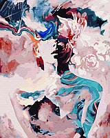 Картина по номерам Абстракция акварелью в коробке, 40*50см