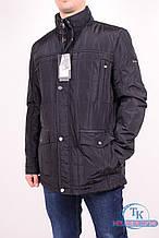 Куртка мужская (цв.т/синий) демисезонная из плащевки WOLVES 189-A Размер:46