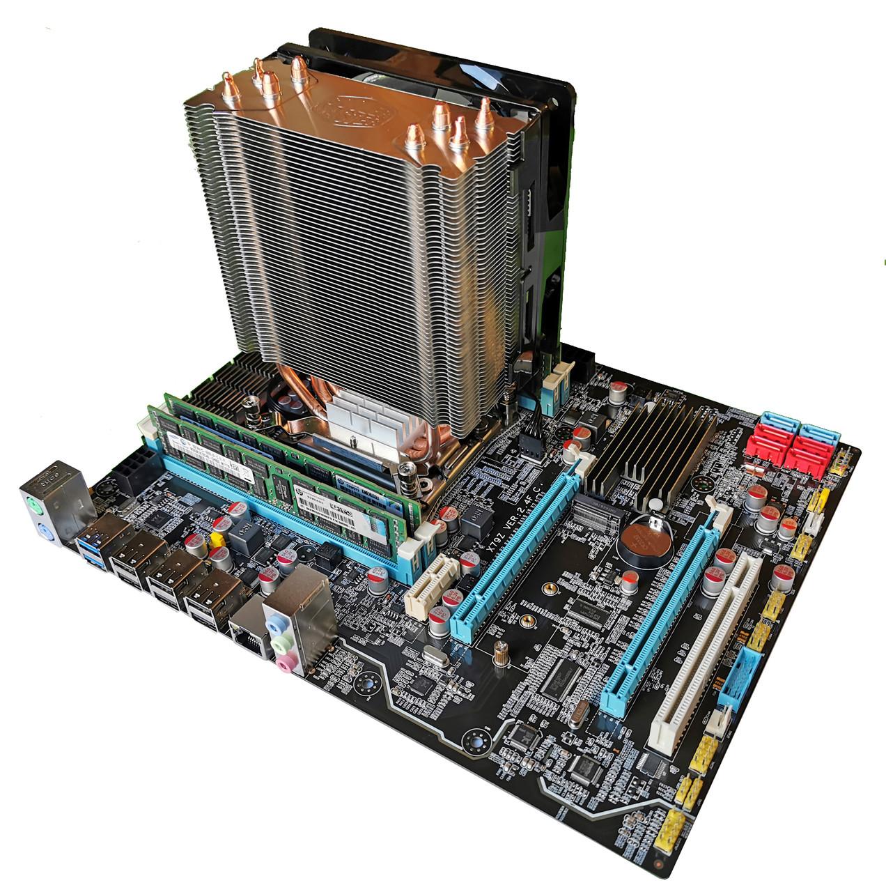 Комплект X79Z-2.4F + Xeon E5-1660 + 16 GB RAM + Кулер, LGA 2011